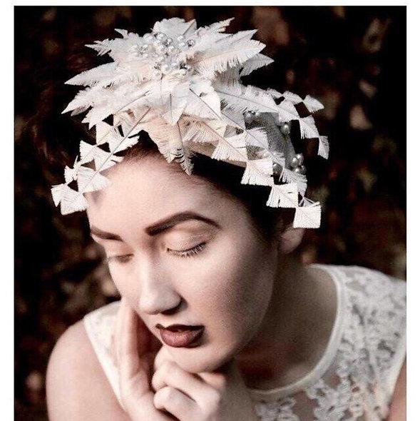 Bridal Drops Headpiece