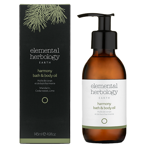 ELEMENTAL HERBOLOGY EARTH HARMONY BATH & BODY OIL