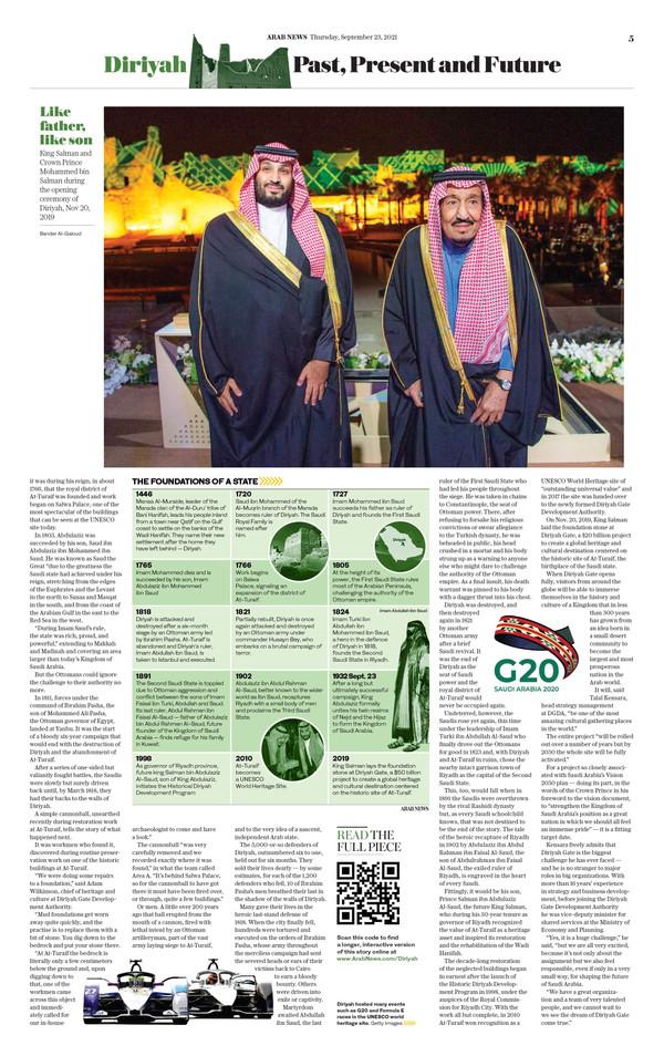 Arab News Saudi National Day 2021 (p5)