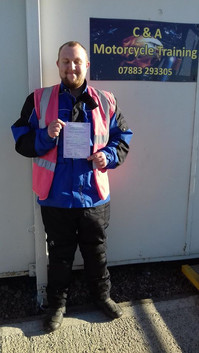 Congratulations to Mark Griffin on passing his mod1 today