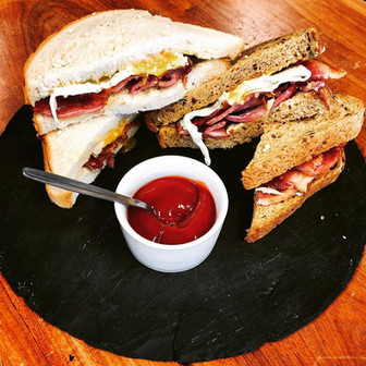 Why not treat yourselves to a takeaway bacon or sausage sandwich. We will be making these to order 7 days a week starting this Saturday.  🥓 🍞🍳🥪