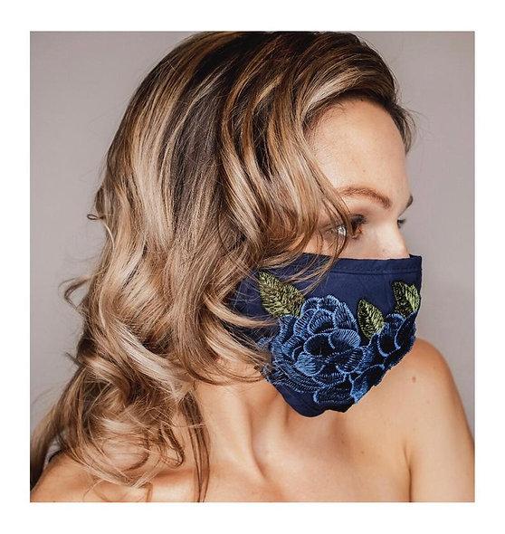 Rosy Blue Mask