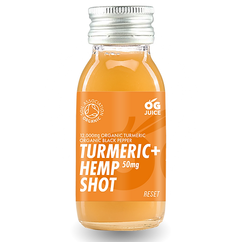 Turmeric + Hemp Shot