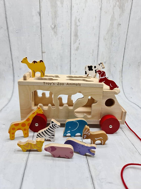 Pull Along Animal Shape Sorter