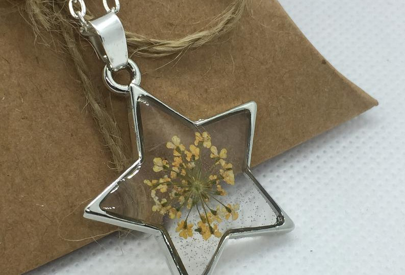 Design Your Own Personalised Star Necklace - Silver