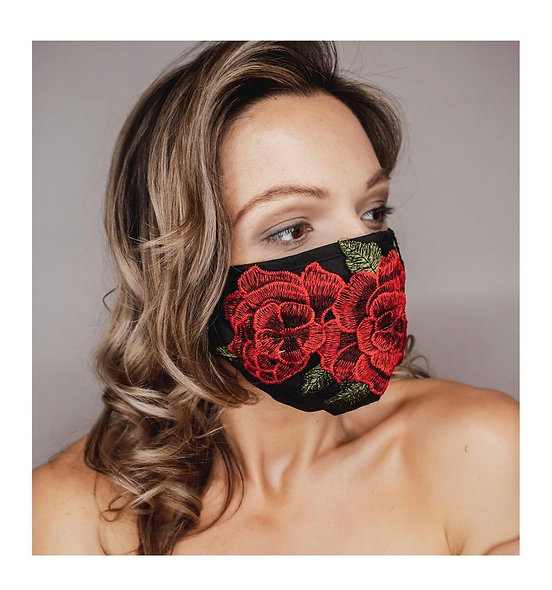 Rosy Red Mask