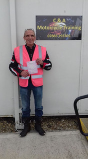 Well done Phil Turner on passing your Mod 1 on Friday