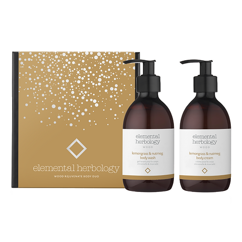 ELEMENTAL HERBOLOGY - WOOD REJUVENATE BODY DUO