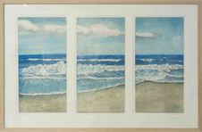 'Triptych: Beyond the Waves'