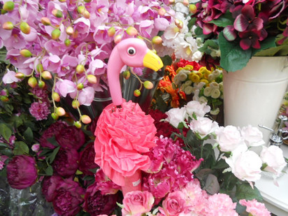 flamingo & flowers.JPG
