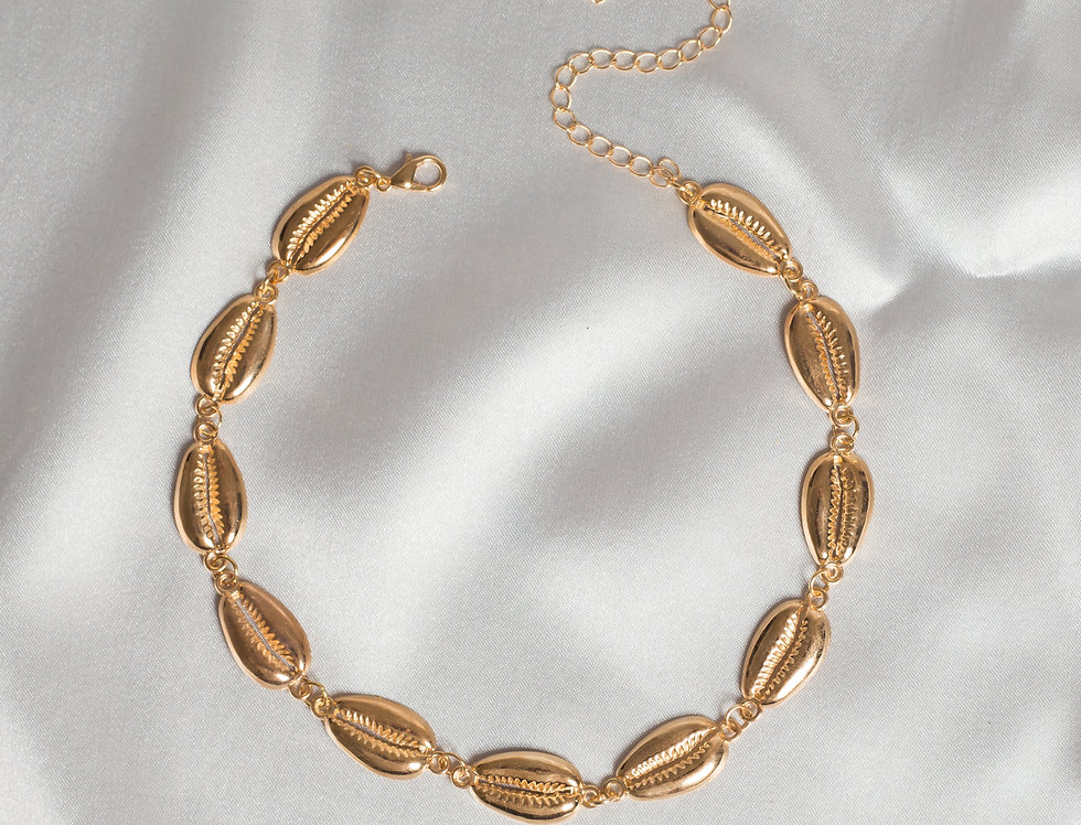Golden Shellie Choker