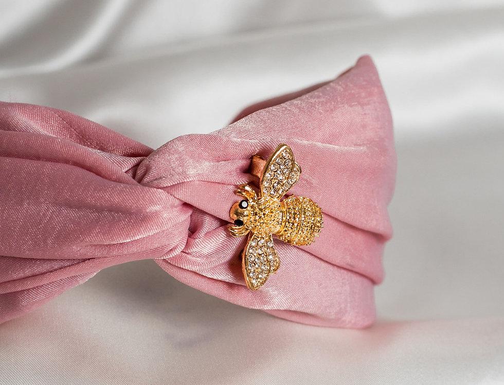 Pink Satin Bee