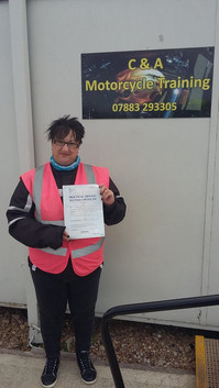 A big well done to Helen Shaw who passed her Mod 2 with only 2 rider faults!