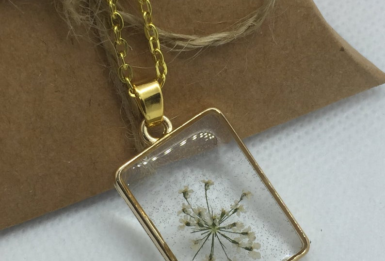 Personalised Square Necklace