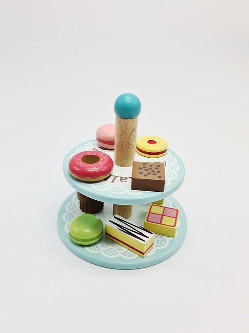 Wooden Afternoon Tea Stand