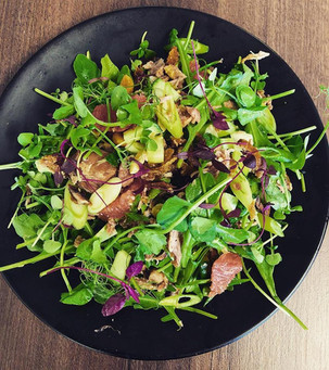 New on our menu this week is our crispy duck and grapefruit salad with toasted cashews, spring onions and a honey and ginger dressing.