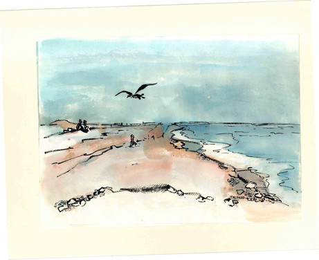 'Blakeney and Seagull'