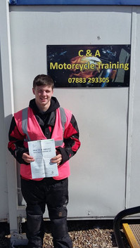 Well done Callum Manley on passing your Mod 2 this afternoon and gaining your A2 license!