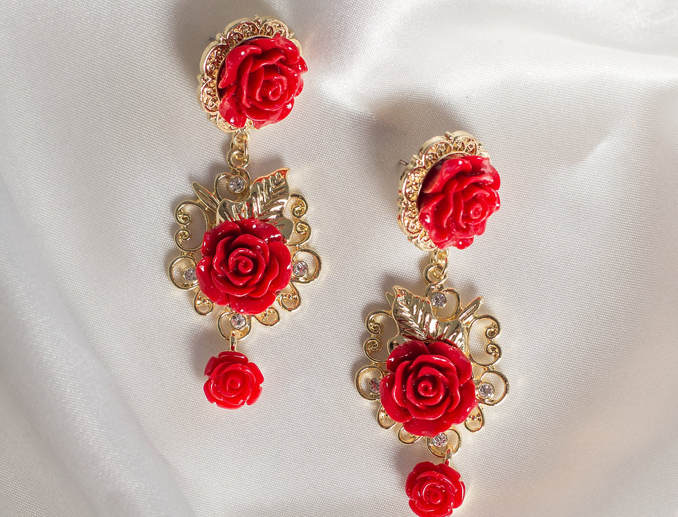 Belle Bud Drop Earrings