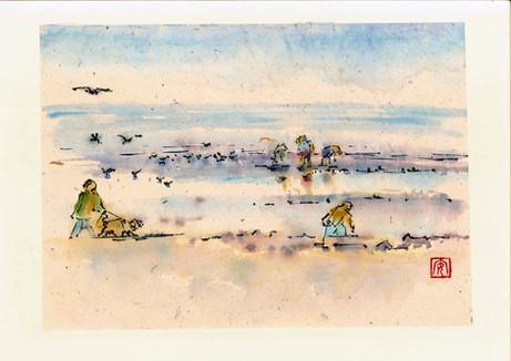 'Walking on the Beach'