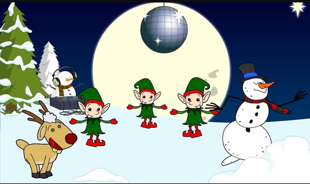 Toddler Christmas Dance