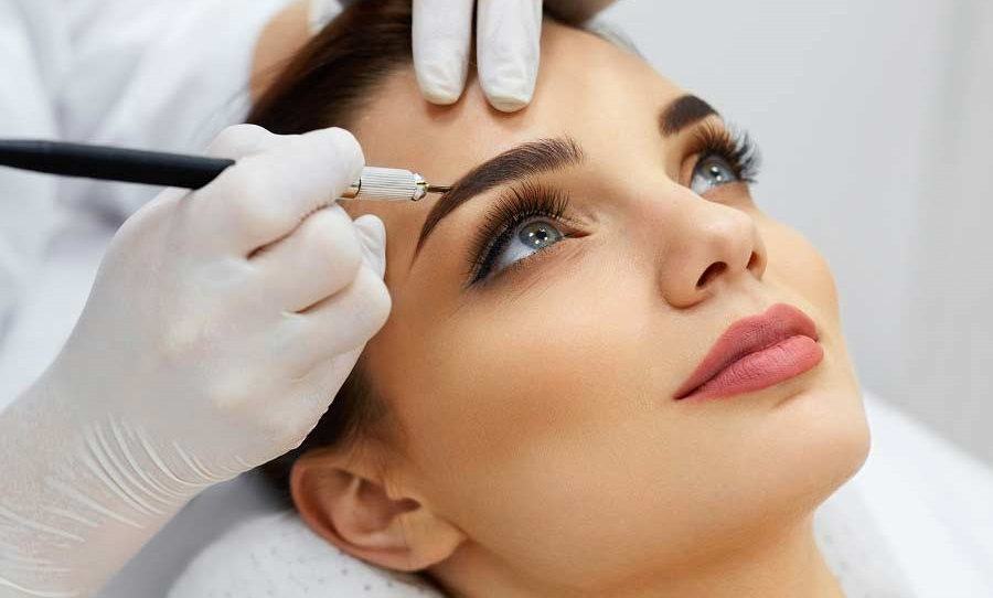 Brow definition using HiBrow system®