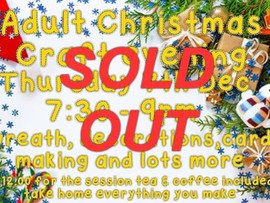 All spaces have sold now thank you ✂🎅🔥☃❄🎄