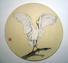 'Angel Wings: Snowy Egret'