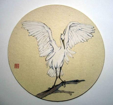 'Angel Wings: Snowy Egret'