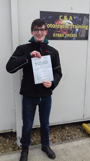 Congratulations to Ewan France on passing his mod 2