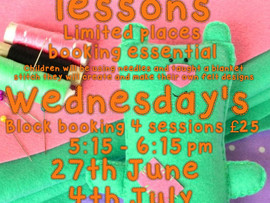 ** Booking essential limited spaces **