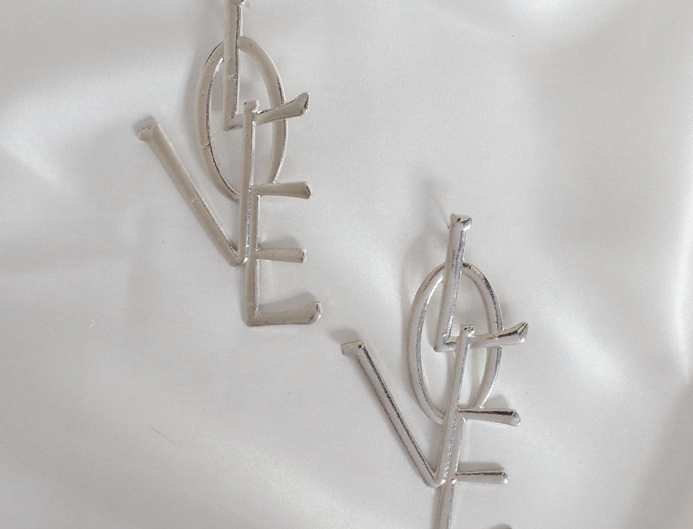 Laurent Love Earrings Inspired