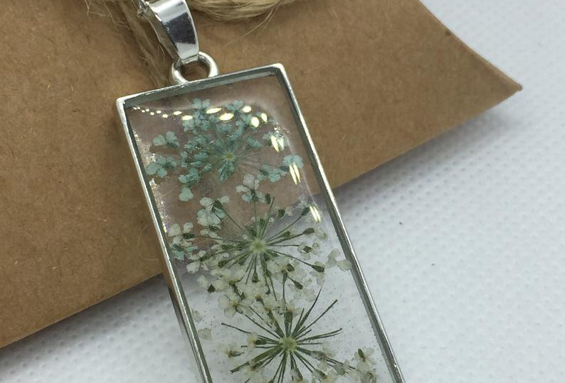Personalised Rectangle Necklace