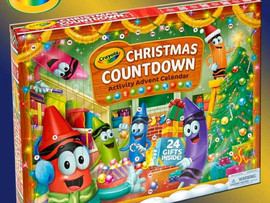 🖍🖍🖍****COMPETITION TIME****🖍🖍🖍 We have a fantastic crayola advent calendar to give away. All y