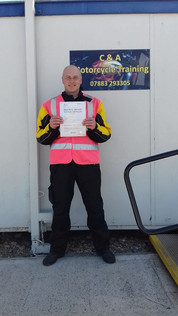 A big well done to Neil Macey on passing his Mod 2 and gaining his full license!
