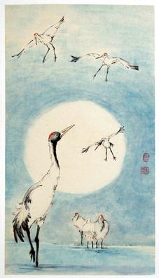 'Cranes coming home'