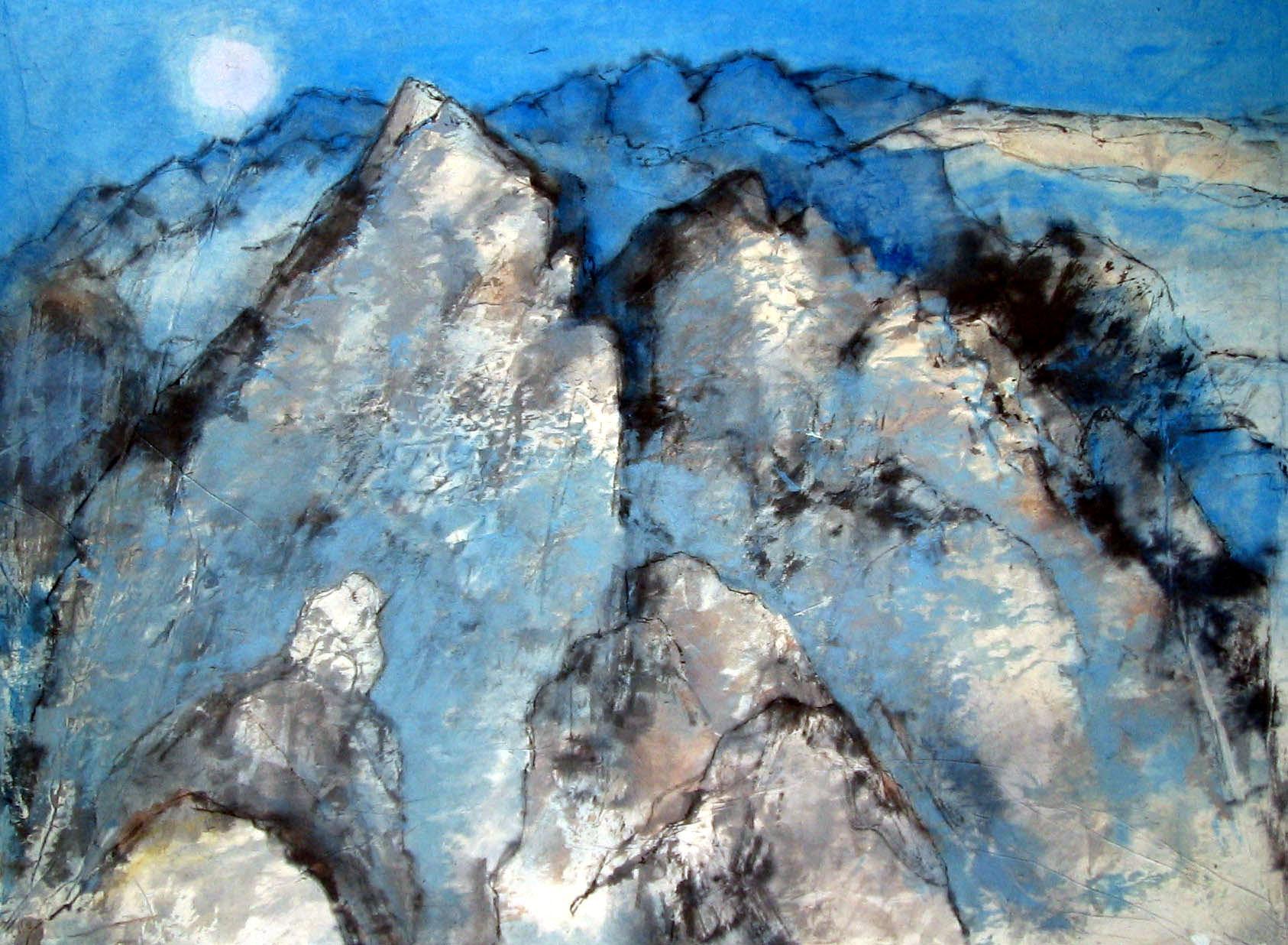 'Moonlit Mountains'