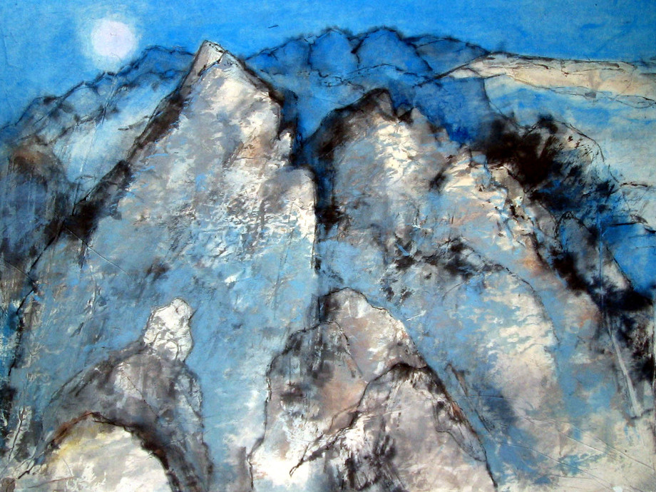 'Moonlit Mountains'