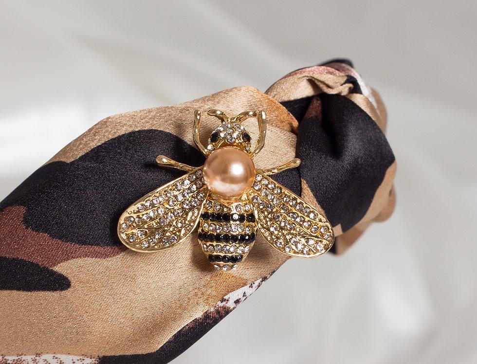Golden Leopard Bee