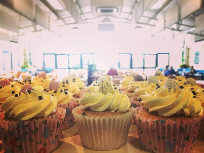We tip our hat to our excellent Olive Tree bakers, they certainly know how to bake a cupcake! These Easter delights were made in preparation for our event and frankly couldn't have been tastier! Eye catching and mouth watering, a perfect combination!