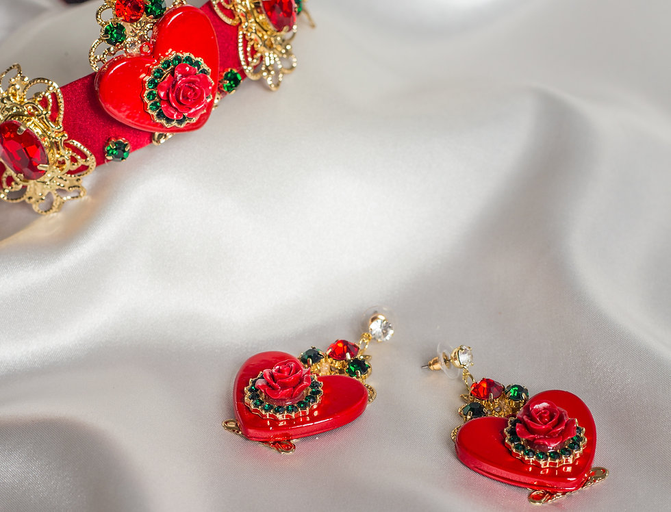 Queen of Hearts Crown Set