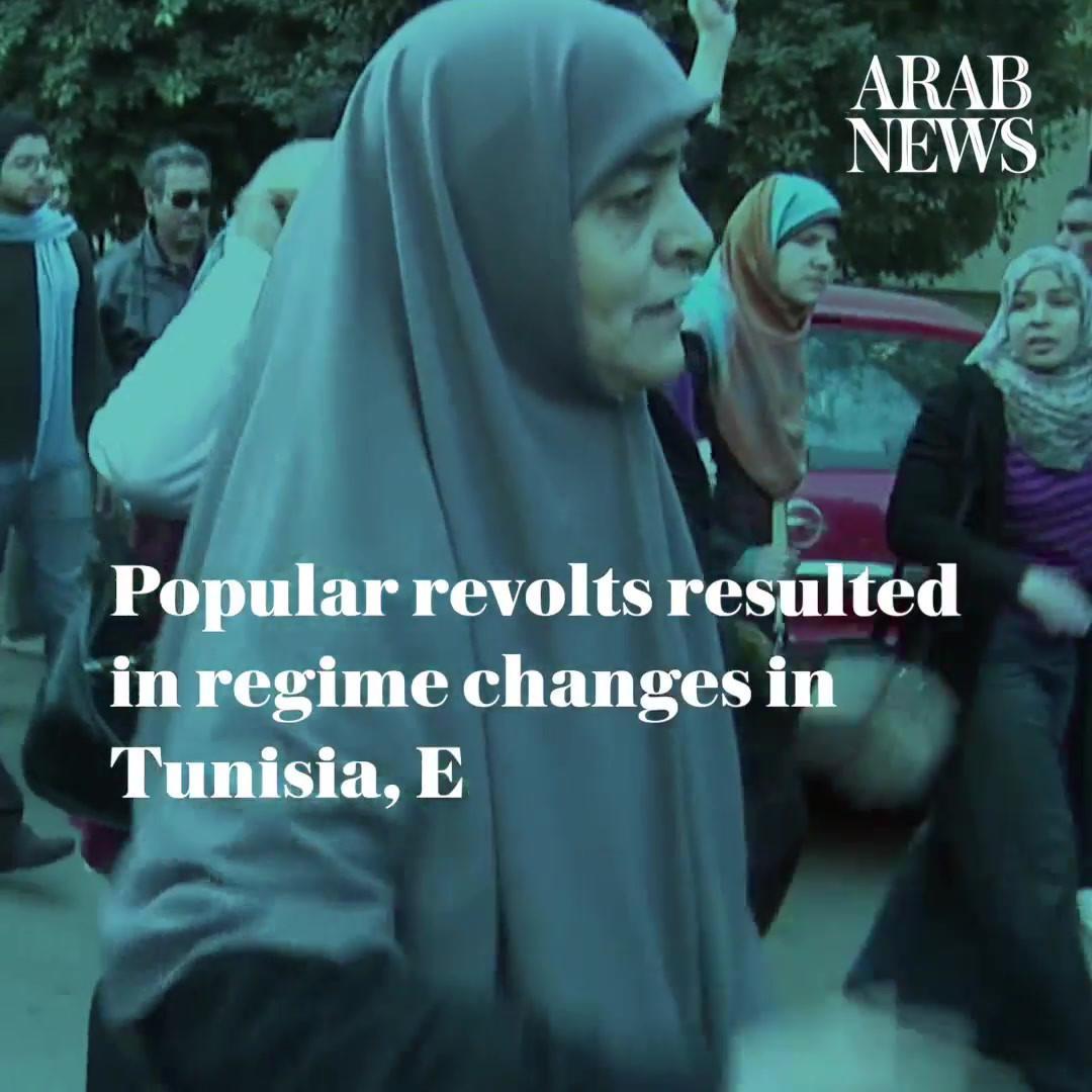 33. Dec. 18, 2010, Beginning of Arab Spr