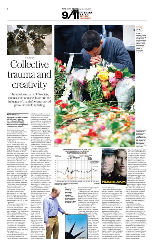 Arab News 9/11/21 (page 6)