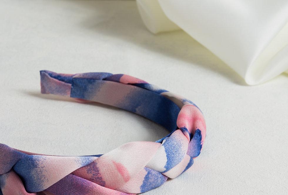 Plaited Tie Dye Headband