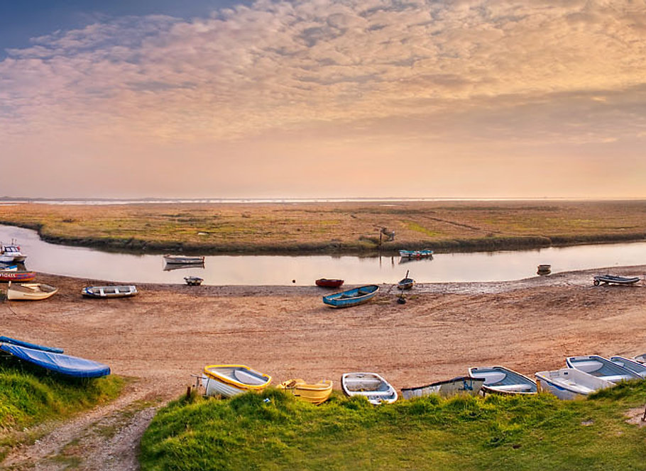 Sunrise on the North Norfolk Coast - taken at Morston