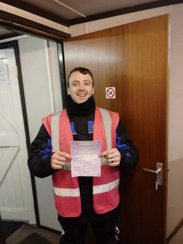 Belated congratulations to Jordon Mooney on passing his Mod 1 this week!
