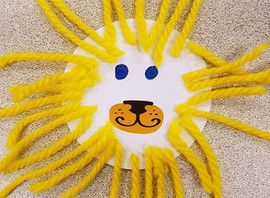 Last day of animal theme today and we are making lion fridge magnets as one of our crafts. Sessions
