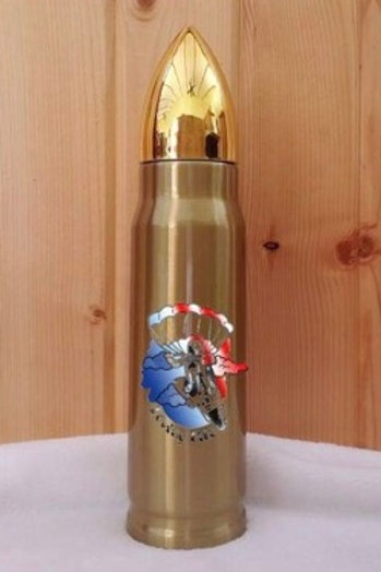 Veterans Skydive For Life Bullet Thermos