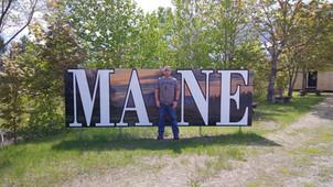 Justin Burnham, Maine