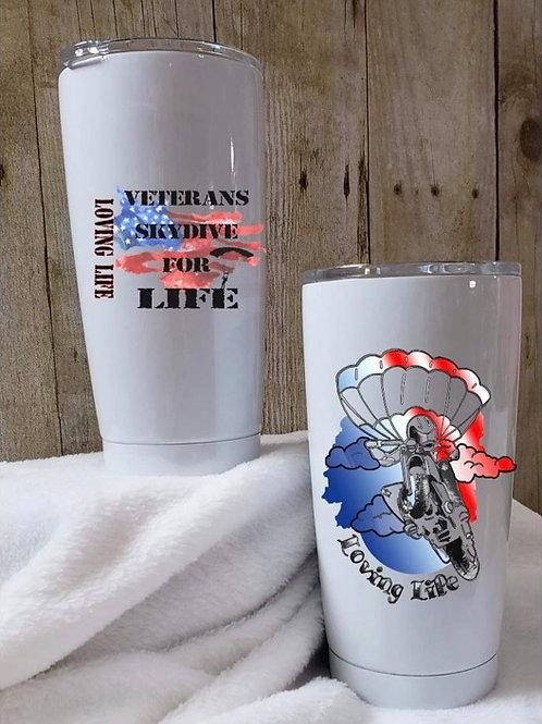Veterans Skydive For Life Tumbler